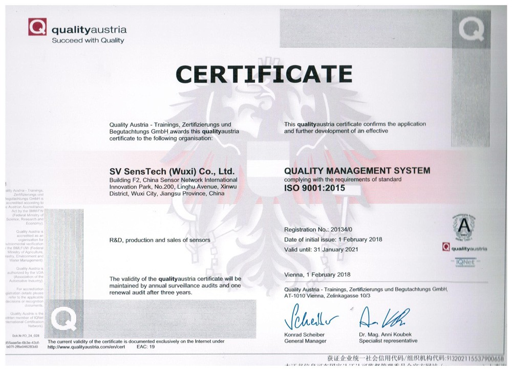 ISO Certificate (Eng